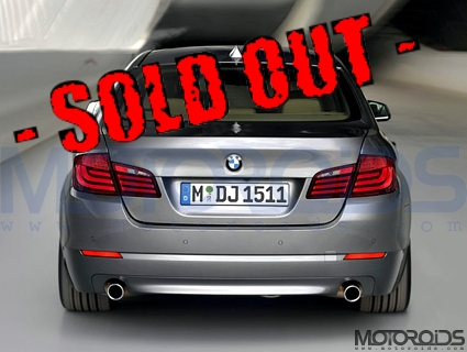 BMW-5-series-Sold-Out