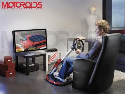 Thurstmaster unveils Ferrari Wireless GT Cockpit 430 Scuderia Edition