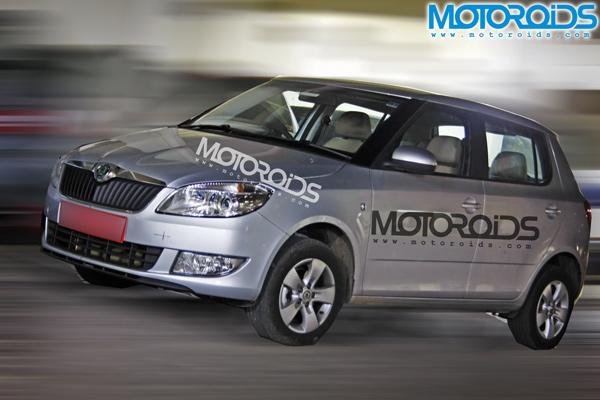 2010-Skoda-Fabia-Facelift-Front-Three-Quarter-Static-Scoop