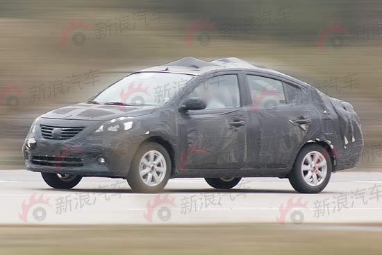 2011_Nissan_Micra_sedan
