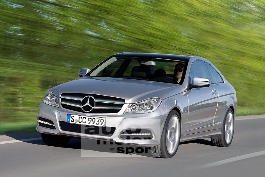 2011-Mercedes-Benz-C-Class-Coupe-Artist-Impression