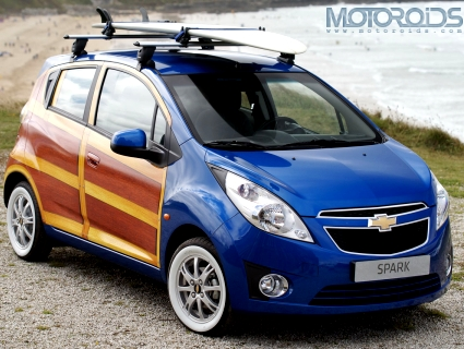 Chevrolet-Beat-Spark-Woody-Art-Car-Opener