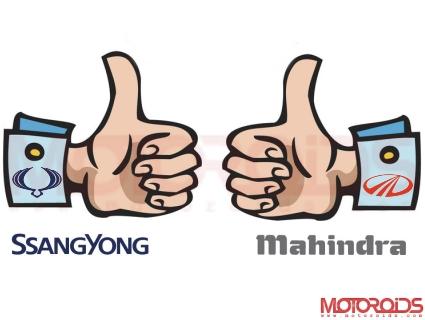 Ssangyong-Mahindra-buyout