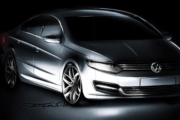 2012-Volkswagen-Passat-CC-design-sketch