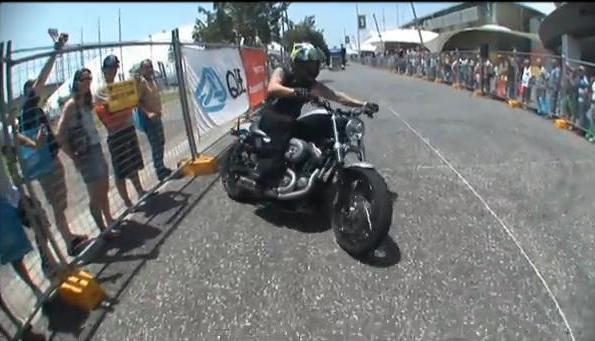 Harley-Stunts