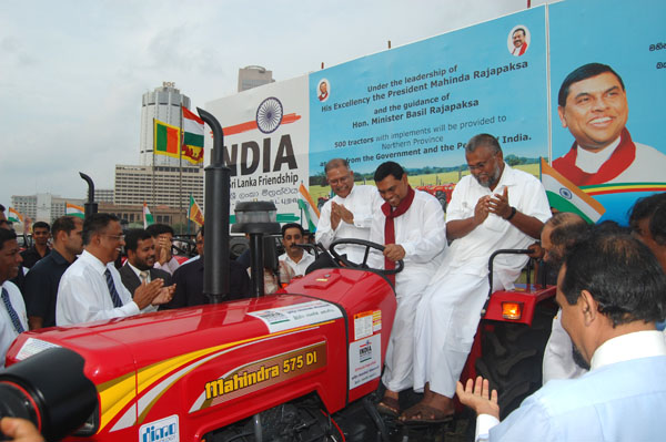 Indian-government-donates-tractors