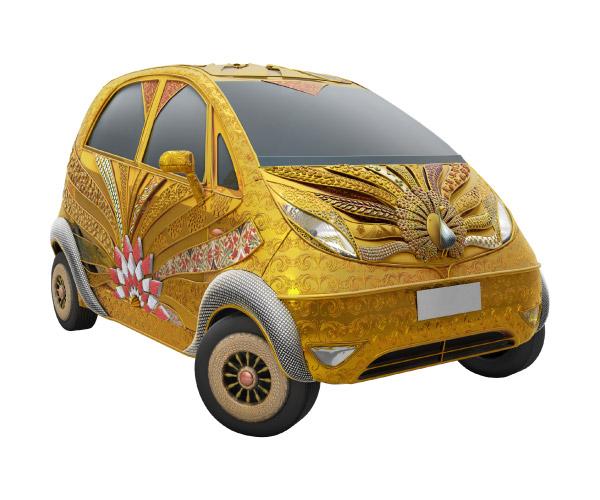 Titan-Tata-Nano-golden-1