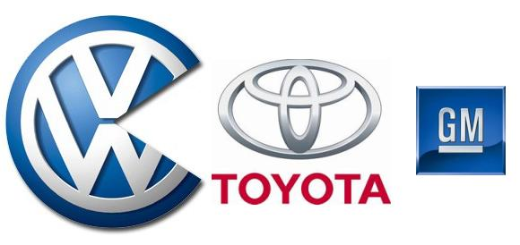 Volkwagen-Vs-toyota-Vs-GM