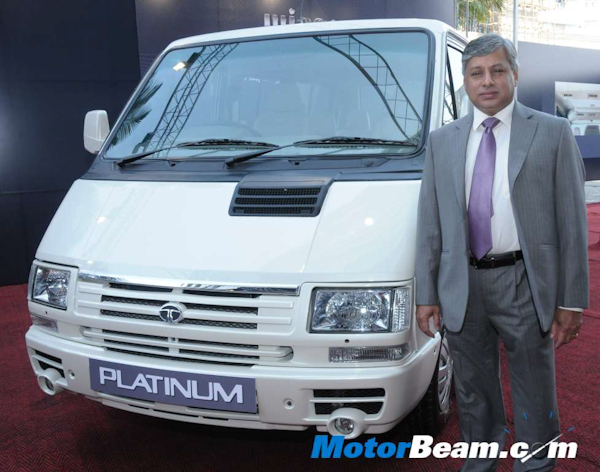 Tata launches Winger Platinum.