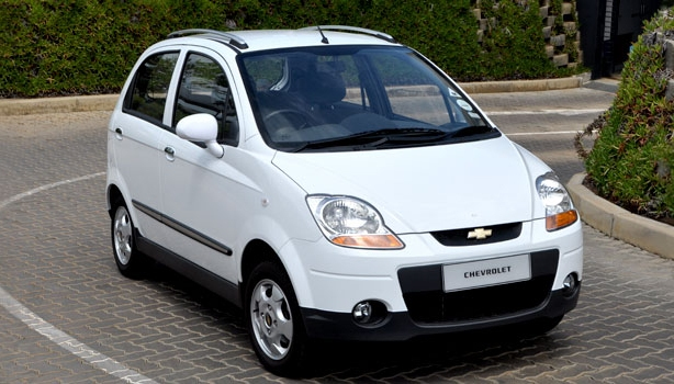 The Chevrolet Spark 800 which is sold in the South African market