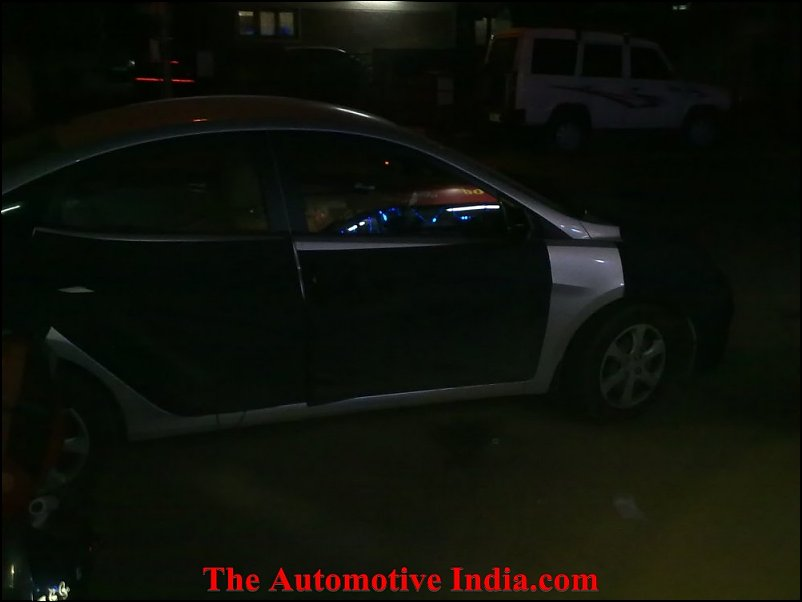 Hyundai Verna RB interior and exterior spied