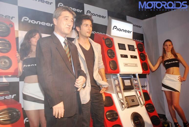 Pioneer-launch-Shahid-Kapoor