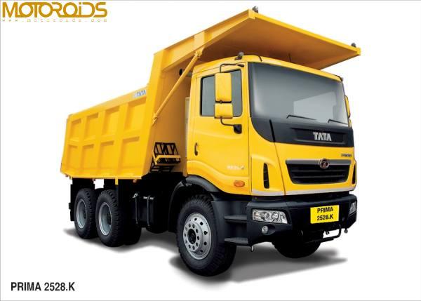 Tata Prima Construck range