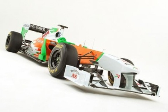 2011-Force-India-VJM004-F1-car