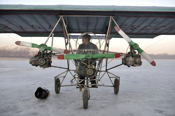 Chinese-self-made-plane