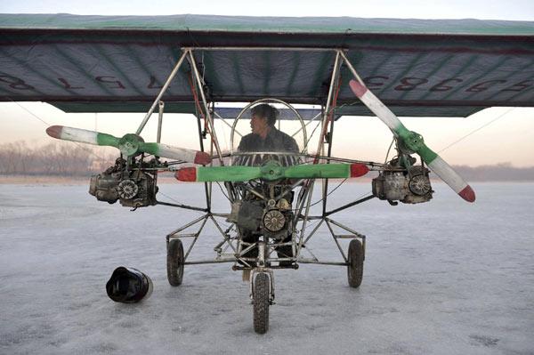 Chinese-self-made-plane