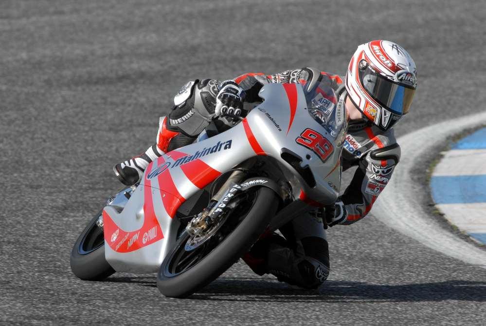 Danny-Webb-aboard-Mahindra-Racing-GP125
