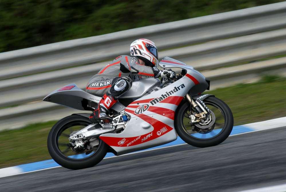 Danny-Webb-riding-Mahindra-Racing-GP125