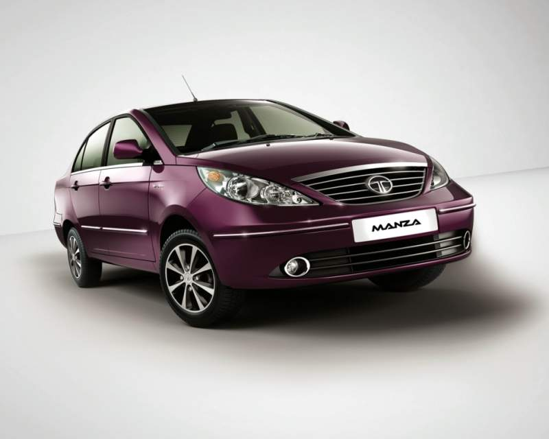 Tata launches the face lifted Manza, top variant to be called Manza Elan