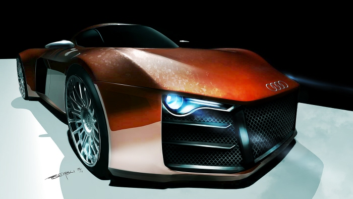 Audi-R10-rendering