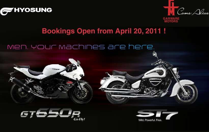 Hyosung-bookings