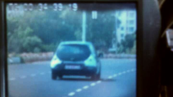 Honda-Brio-spy-image-India