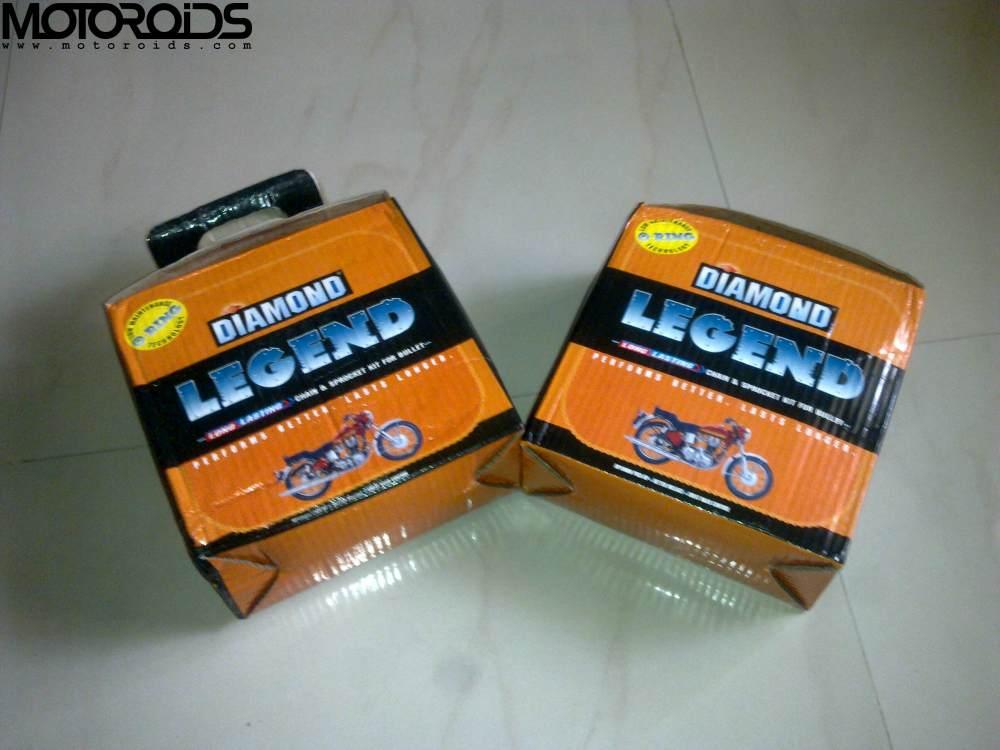 diamond-chain-motoroids