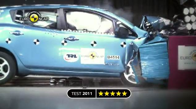 Nissan-Leaf-gets-five-star-NCAP-rating