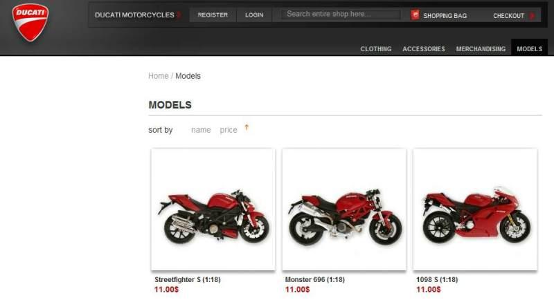 Ducati-store