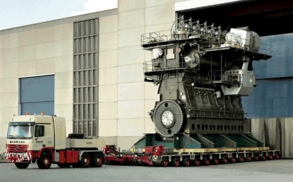Largest-diesel-engine