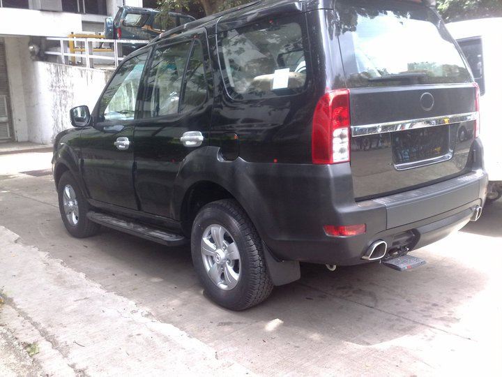 Tata Safari Merlin: First undisguised spy pictures