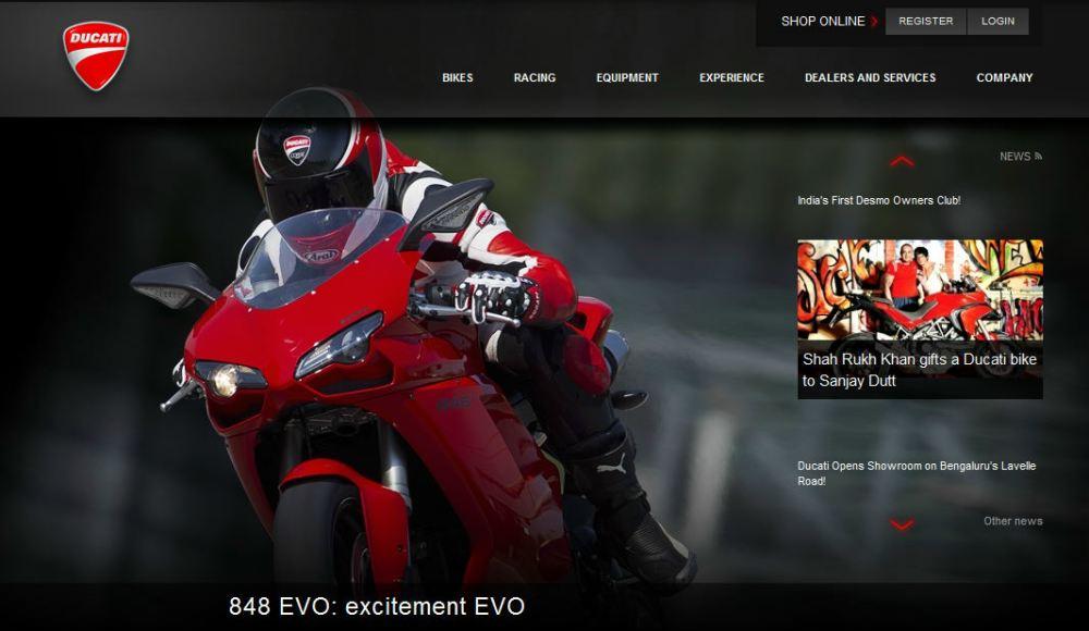 Ducati-India-site