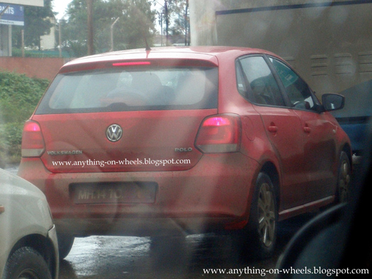 New Volkswagen Polo and Touareg SUV caught testing in Pune!