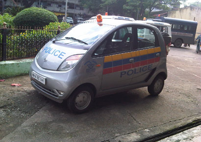 nano-for-Mumbai-Police