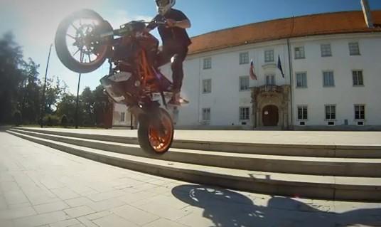 KTM-stunt-Video