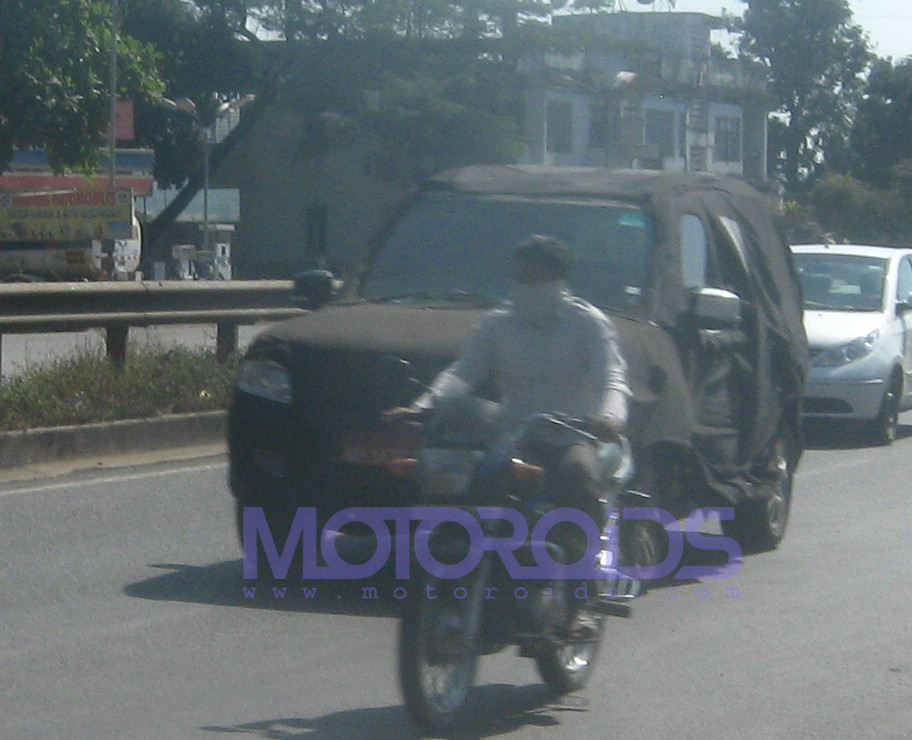Spied again: Tata Safari Merlin, images and details