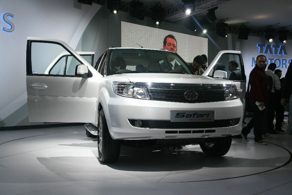 Tata to mark its presence at Geneva with Safari Storme and Manza Hybrid