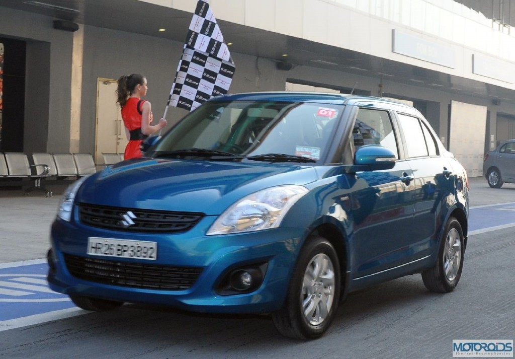 New-Swift-Dzire-being-tested-at-the-Buddh-International-Circuit-Noida-1024x713