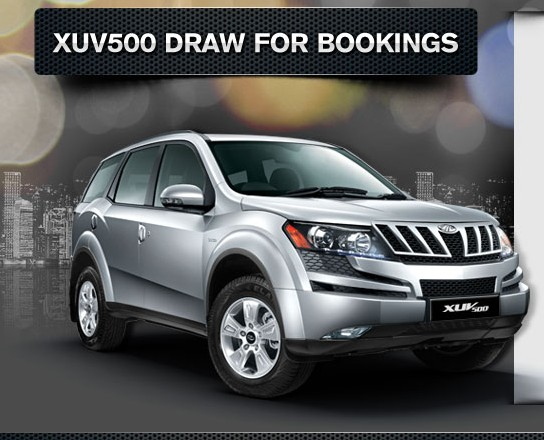 XUV500-bookings