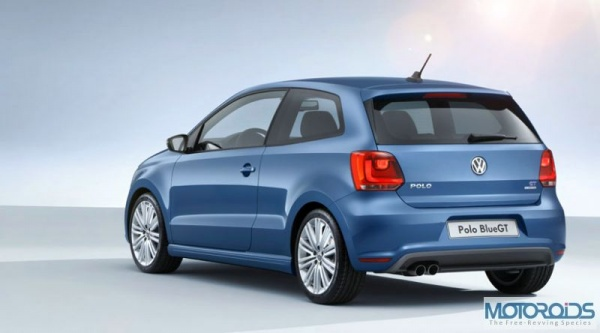 VW Polo Blule GT