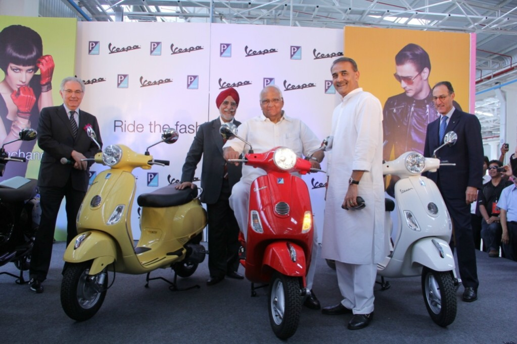 Piaggio-India-plant-inauguration