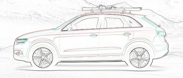 Audi-Q3-Red-Track-side-profile
