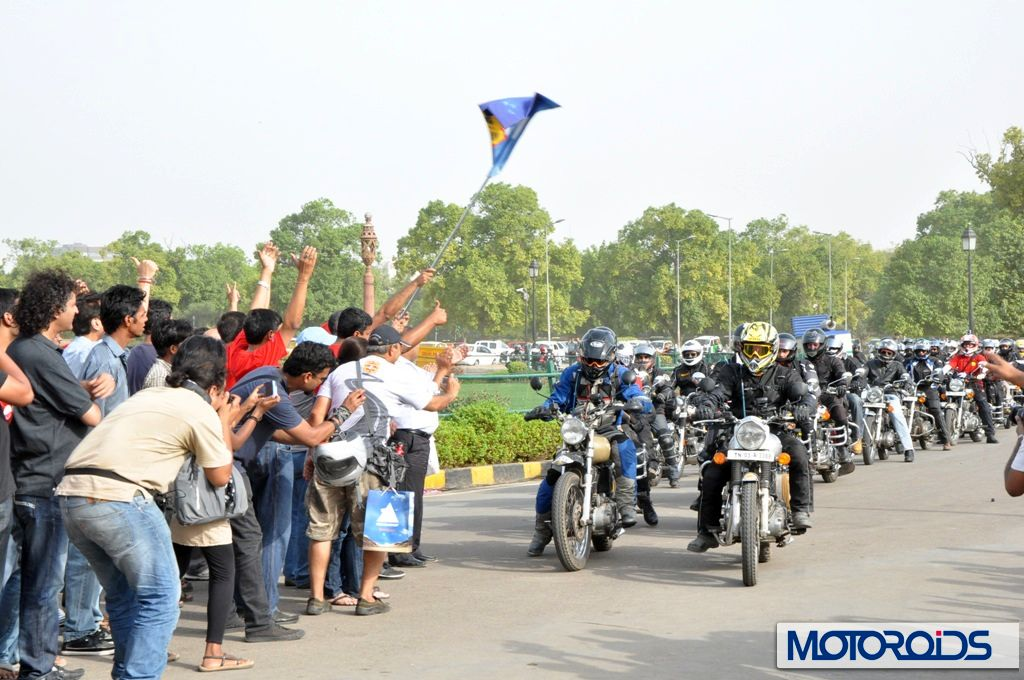 Flag-off-of-9th-Royal-Enfield-Himalayan-Odyssey-2012