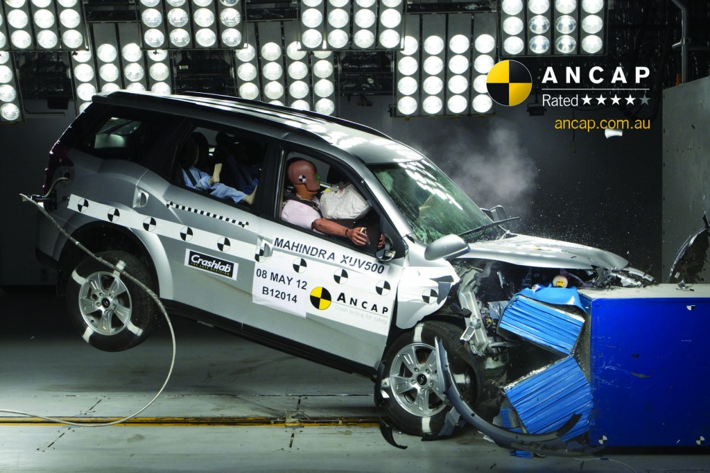 Mahindra-XUV500-ANCAP-4-star-safety-rating