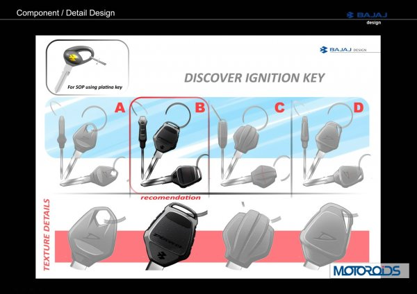 Discover 125 ST design sketches