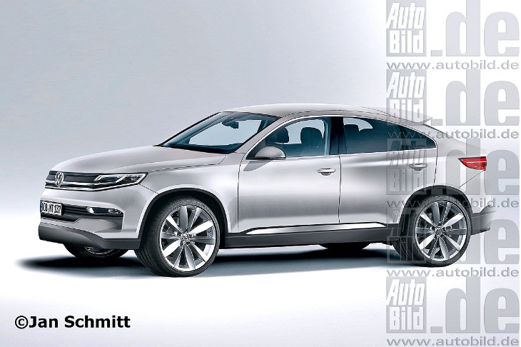 Volkswagen Touareg CC to lock horns with BMW X6