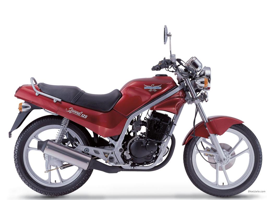 Hyosung-125cc