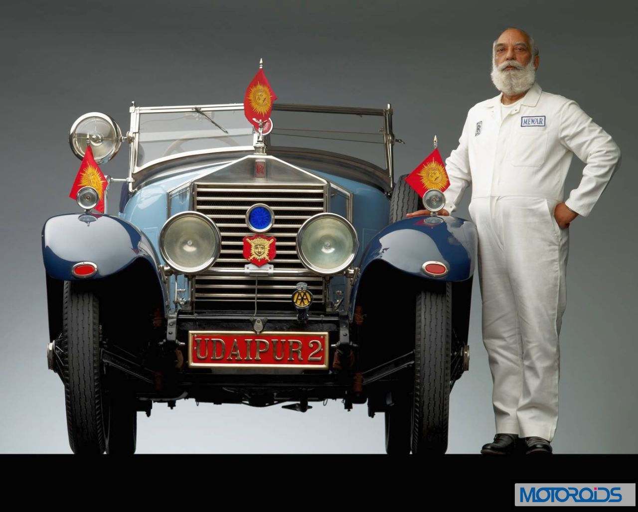Shriji-with-his-1924-RR