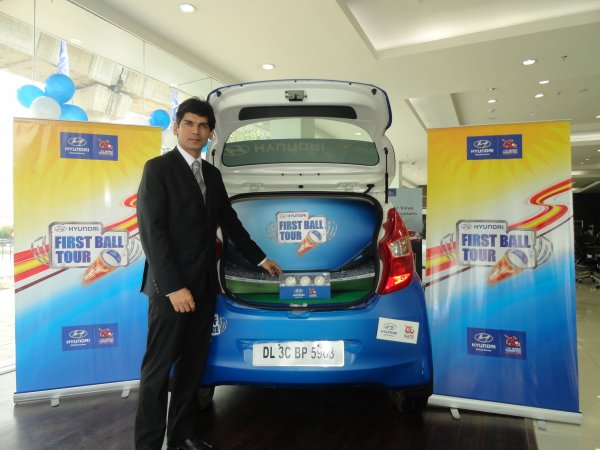 Mr. Nalin Kapoor Sr. General Manager Group Head Marketing HMIL at the Preview of ICC World Twenty20 First Ball
