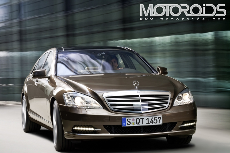 Facelifted S-class